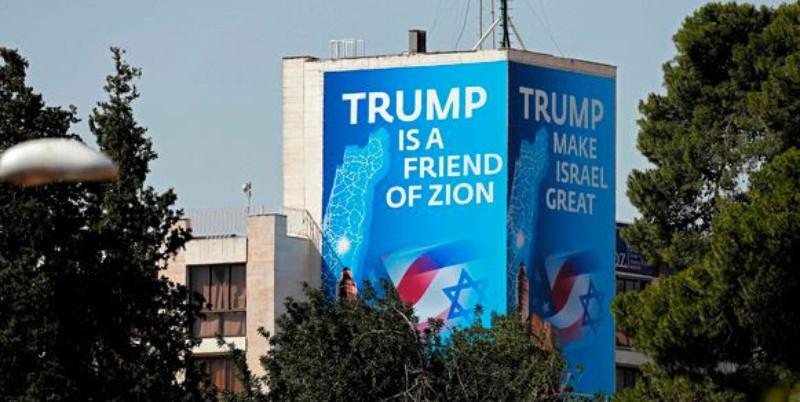 Trump is een vriend van Zion