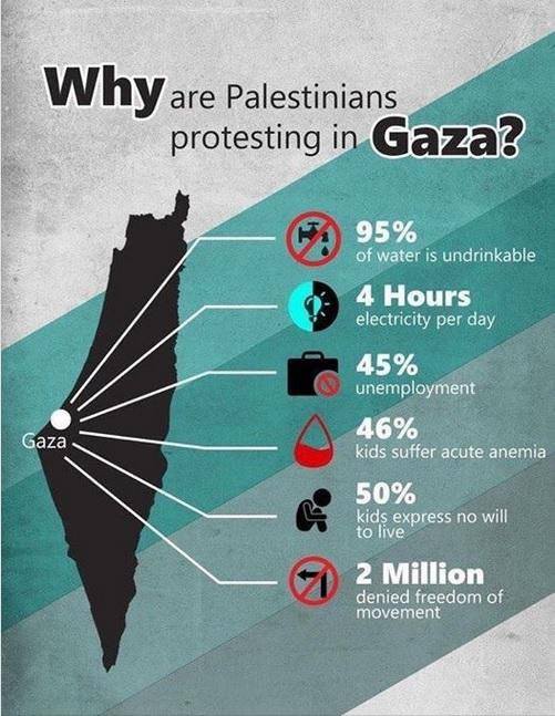 Statistieken over situatie in Gaza